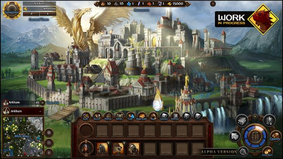 New screenshots of Might & Magic Heroes VII