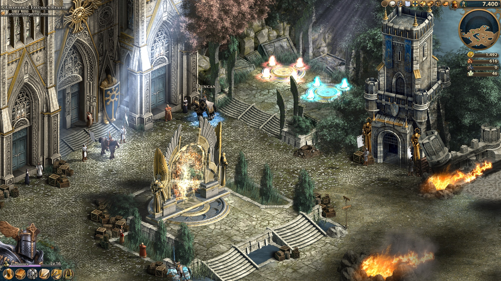 Размер мира Might and Magic Heroes Online